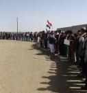 وقفة احتجاجية لطلاب ومعلمي عزلة السفل بمديريه جهران بذمار بمناسبة الذكرى الثانية من العدوان
