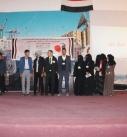 فعالية خطابية وفنية احتفاء بالذكرى الثانية لصمود الشعب اليمني في وجه العدوان بذمار