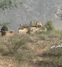 إعطاب آلية سعودية ومقتل عدد من مرتزقة الجيش السعودي بهجوم مباغت وقصف في جبهات الحدود