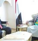 الرئيس الصماد يستقبل رئيس حكومة الإنقاذ الوطني