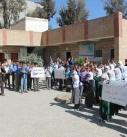 صور   وقفة إحتجاجية بمدرسة الأمل للصم والبكم بذمار بمناسبة مرور 3 اعوام من العدوان وتدشين فعاليات رسومية لجرائمة.