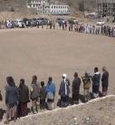 شاهد بالصور:قبائل الحداء بذمار تعلن حالة الإستنفار