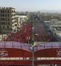 مسيرة جماهيرية حاشدة بالعاصمة صنعاء لإحياء ذكرى استشهاد الإمام الحسين (صور)
