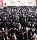 حرائر محافظة ذمار يحيين ذكرى استشهاد الامام الحسين عليه السلام .(صور)