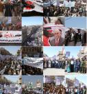 #شاهد : مسيرات ووقفات البراءة من الخونة ورفض التطبيع في محافظة ذمار