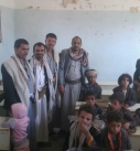 مكتب التربية والتعليم بمديرية مغرب عنس يدشن صرف الحقيبة المدرسية لابناء المرابطين.
