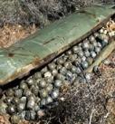 العدوان يقصف مديرية رازح الحدودية بالقنابل العنقودية