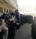 تدشين توزيع الزكاة العينية والنقدية في مديرية عنس بمحافظة ذمار.