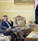 نائب وزير الخارجية يناقش مع رئيس بعثة الصليب الأحمر الوضع الإنساني في اليمن