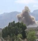 طيران العدوان يستهدف محافظة مأرب بـ23 غارة جوية